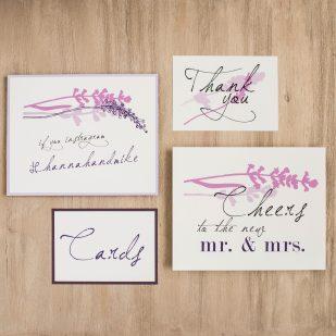 Lavender in Love Custom Signs