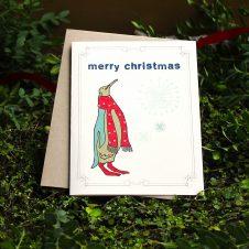 mrpenquinchristmascards10pack