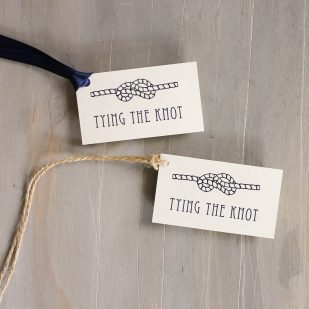 Nautical Bliss Favor Tags