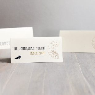 Nautical Bliss Place and Escort Cards