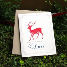 redreindeer10packgreetingcards