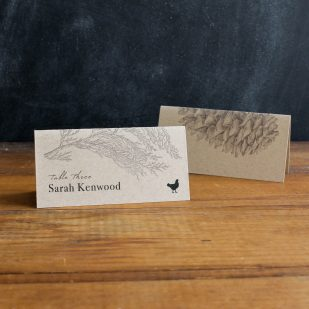 Rustic Charm Place and Escort Cards