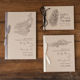 Rustic Charm Ceremony Booklet
