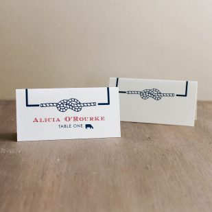 Stars & Stripes Place and Escort Cards