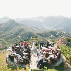 Malibu Mountaintop Wedding Featured On Style Me Pretty