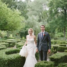 Romantic Garden Featured On The Knot