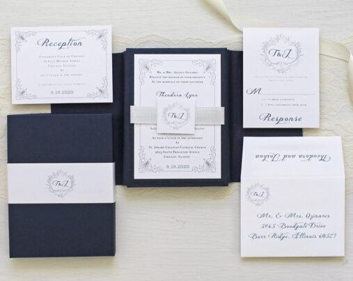 beacon lane boxed wedding invitations chicago il