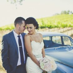 Rustic Vineyard Wedding Featured On Bridal Musings