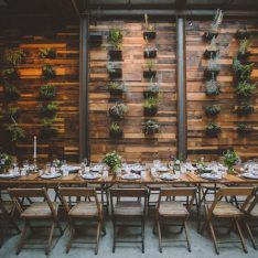 Modern Brooklyn Winery Wedding Featured On Ruffled