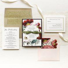 Floral Boho Wedding Invitations