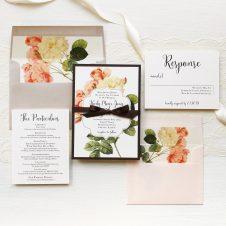 Rustic Garden Chic Wedding Invitations