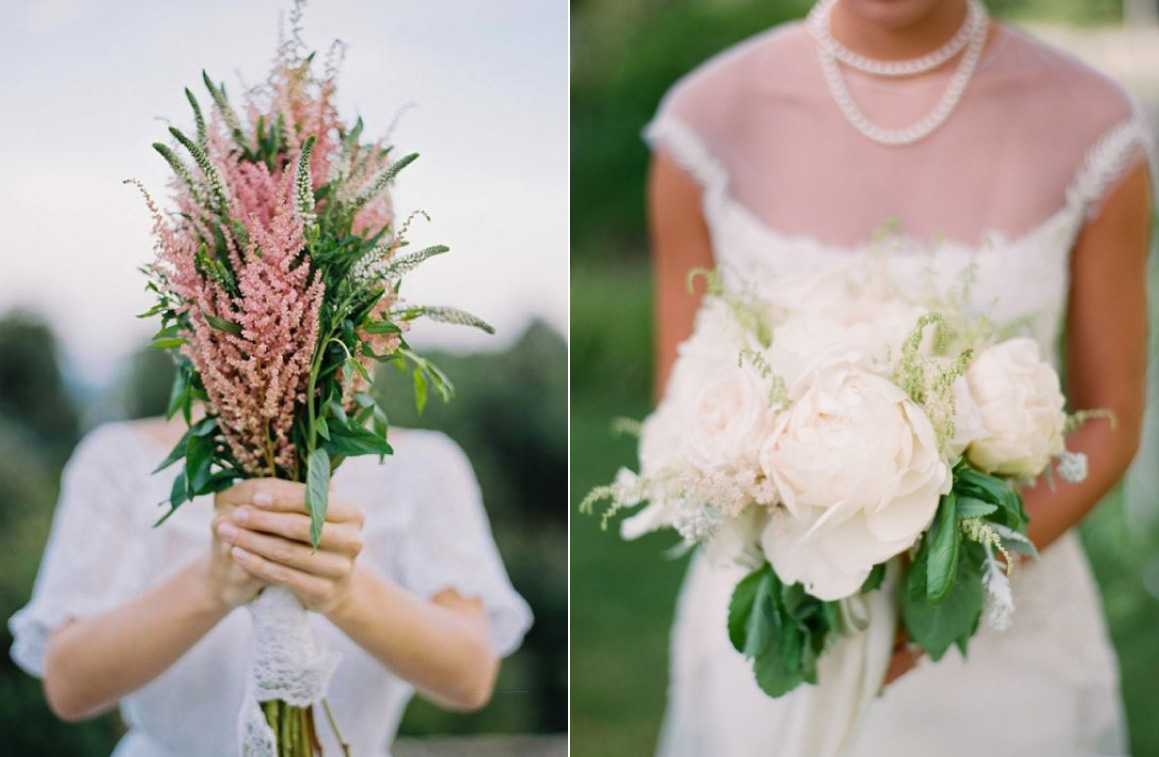 Single Stem Bouquets | Wedding Trends For 2016