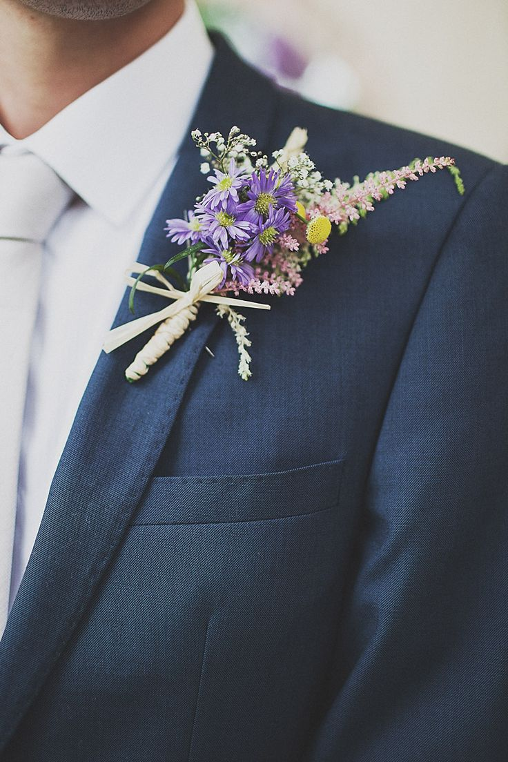 Wildflower Boutonniere| Wedding Trends for 2016 by Beacon Lane