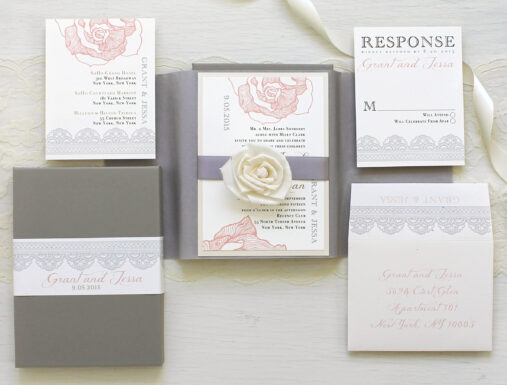 Los Angeles Wedding Invitations: Boxed Wedding Invitations - Los Angeles, CA