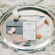 Elegant Blush Wedding Featured On Style Me Pretty