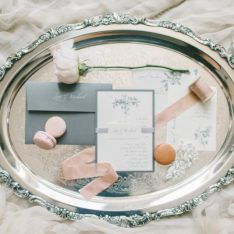 Elegant Blush Wedding Featured On Style Me Pretty