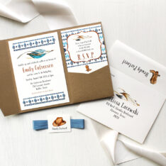 Cowboy Cutie Baby Shower Invitations