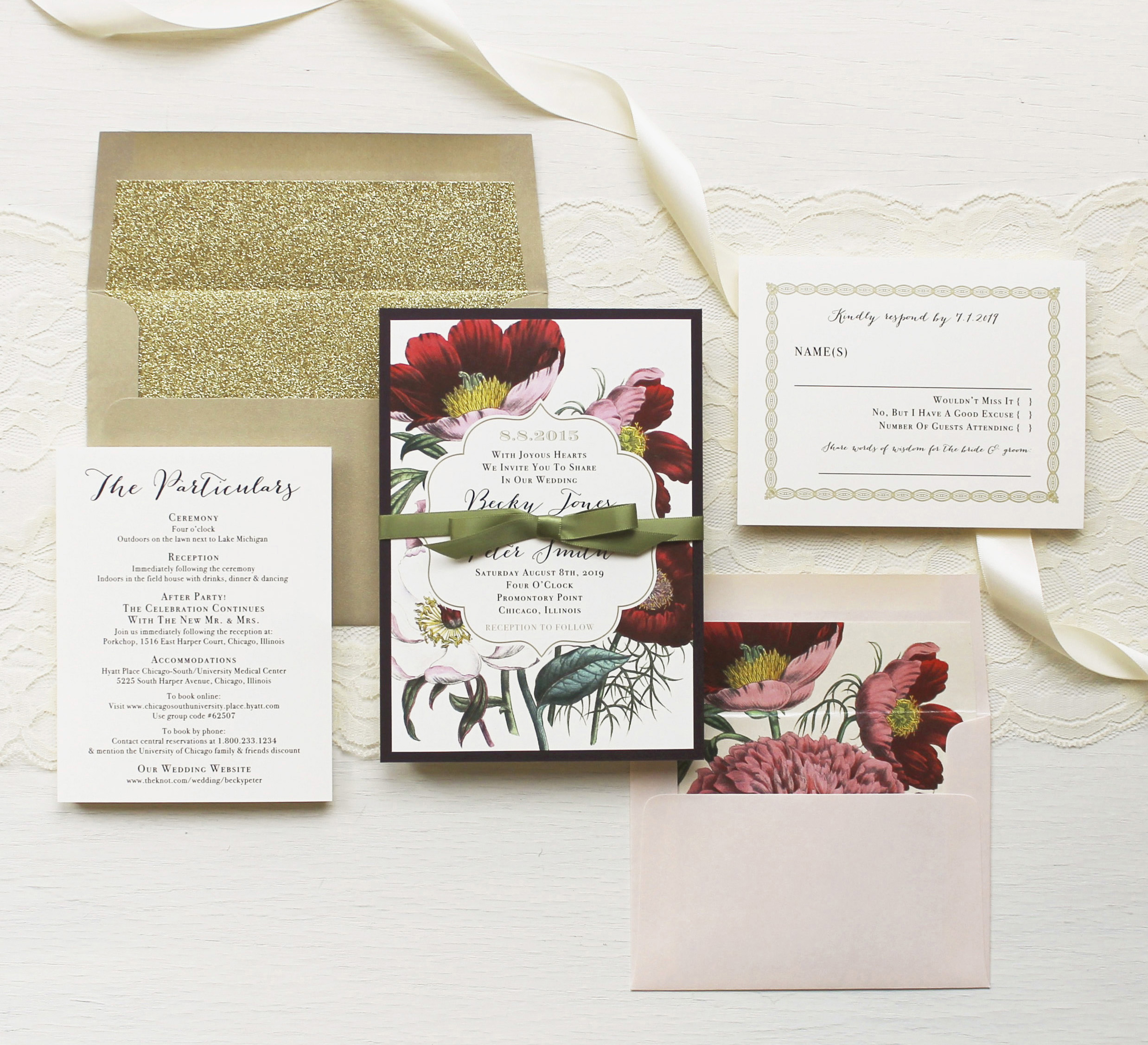 Bohemian Bride Wedding Invitations | Beacon Lane