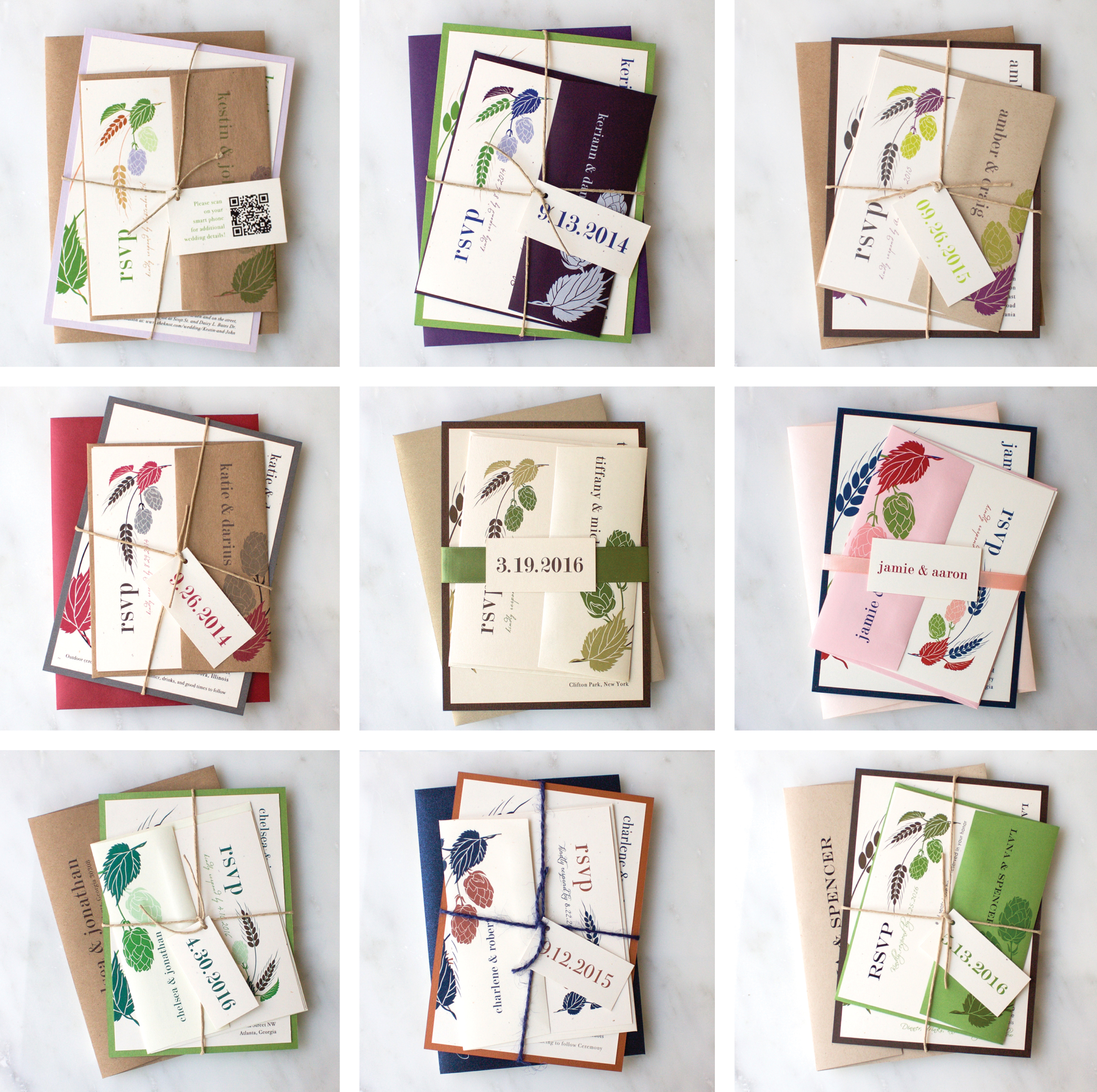 How To Choose Colors For Your Wedding Invitations | Hops Love