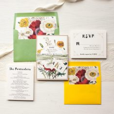 Garden Mix Wedding Invitations | Beacon Lane