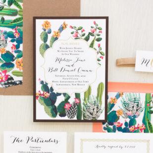 Desert Love Wedding Invitations