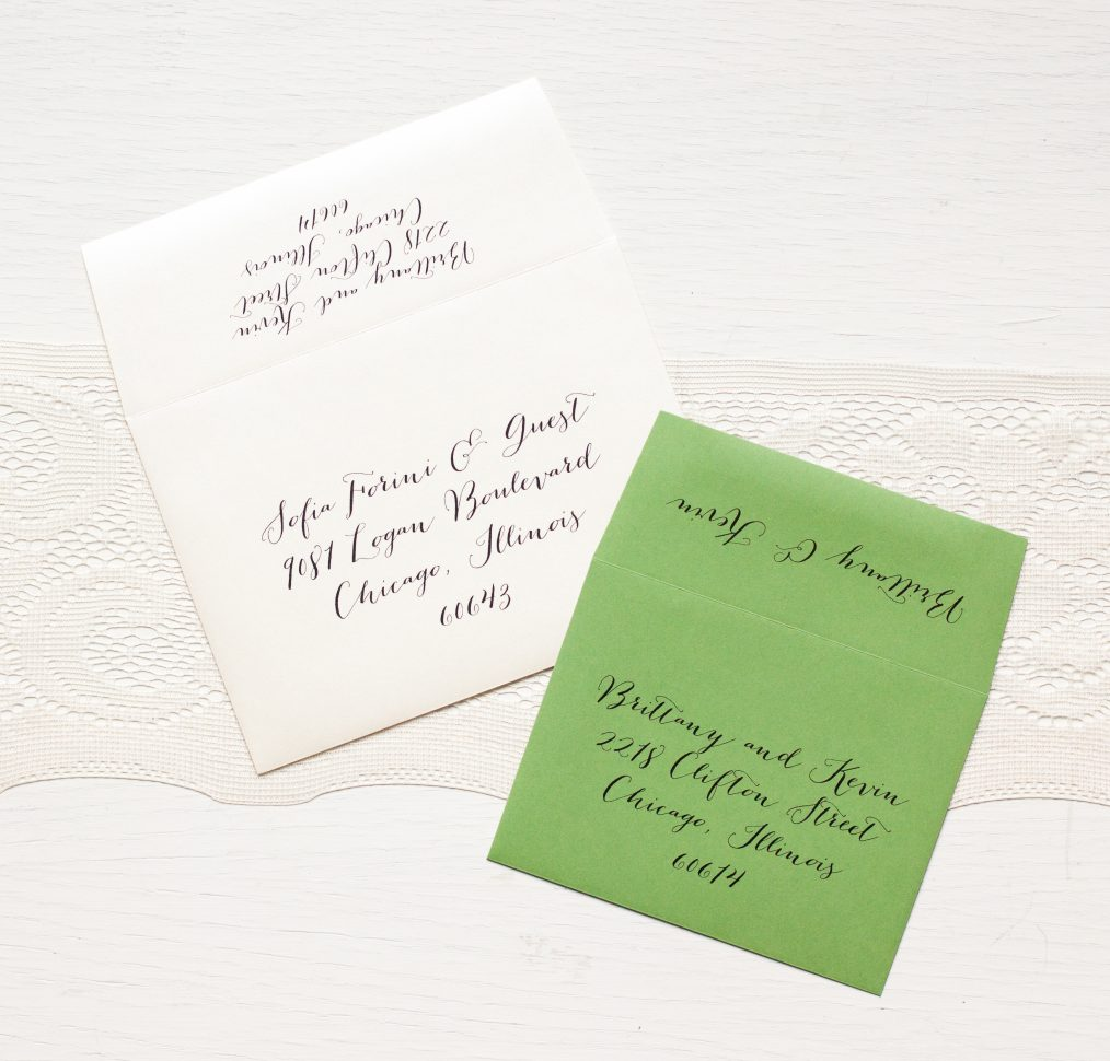 Tropical Green Wedding Invitations