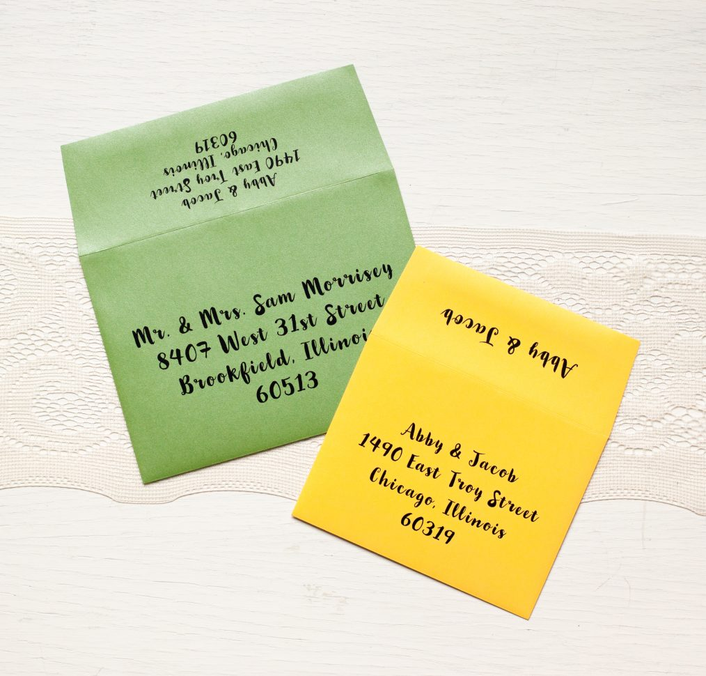 Garden Mix Wedding Invitations