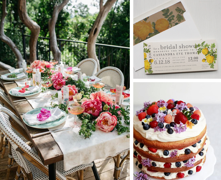 It 39 S A Garden Party Boho Bridal Shower Inspiration