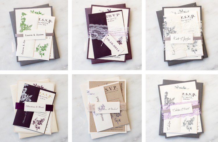 Have You Decided On An Invite Design But Want To Customize It Your Wedding Colors Weve Put Together A Few All White Client Favorites