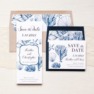 Beach Blues Save the Dates