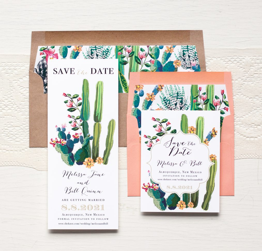 Desert Love Save the Dates by Beacon Lane