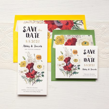 Garden Mix Save the Dates by BeaconLane