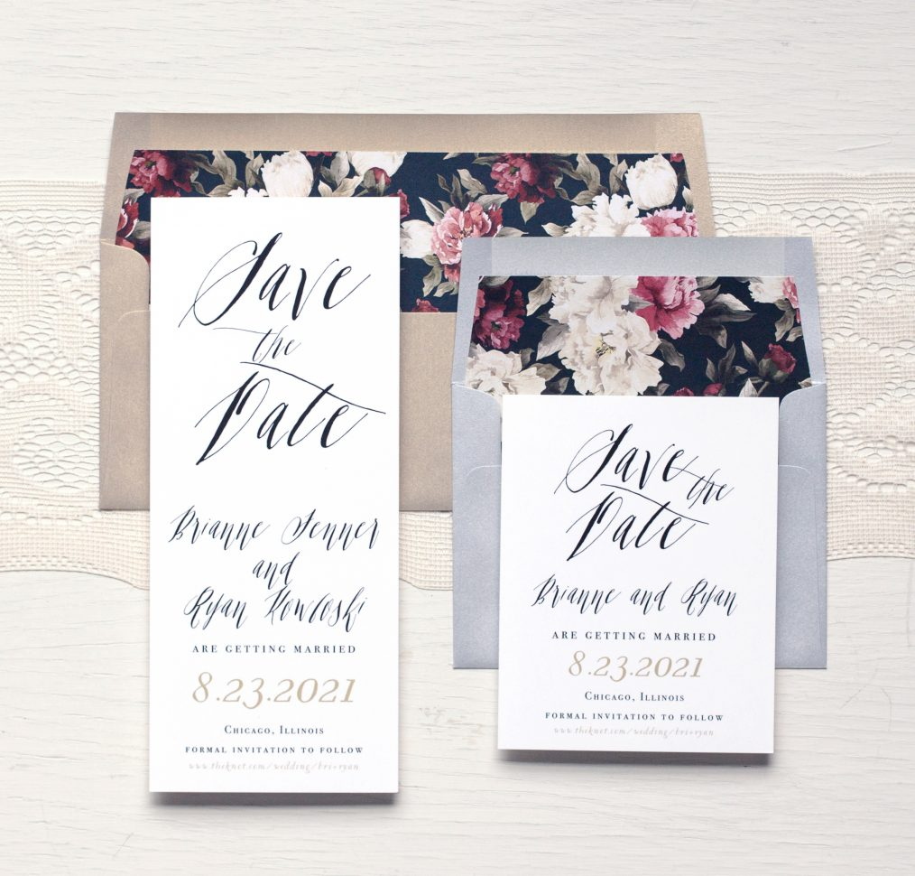 Modern Boho Save The Date By Beacon Lane
