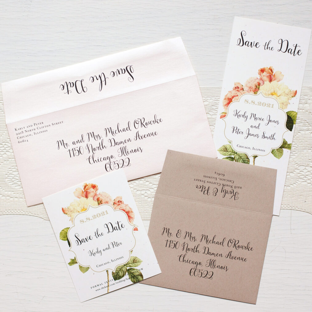 Garden Envelope Liners