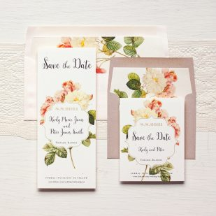 Rustic Garden Chic Save the Dates