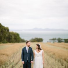 Modern Australian Winery Wedding Featured on Style Me Pretty