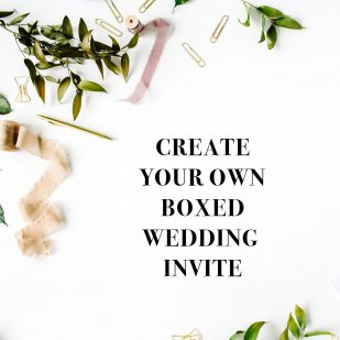 Create Your Own Boxed Invite