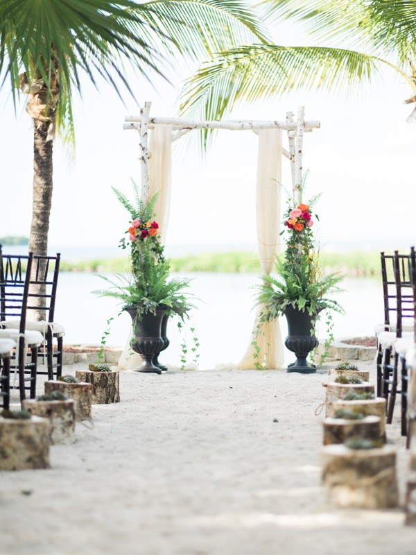 backyard wedding in the florida keys 17