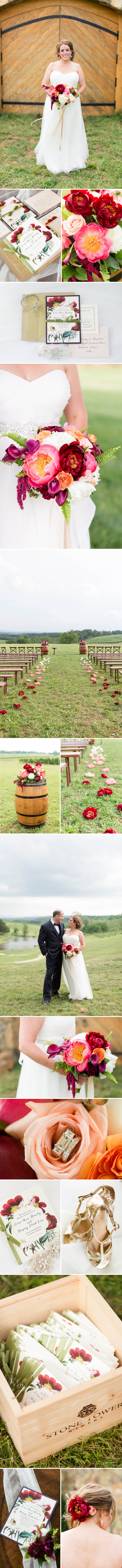 Boho Glam Winery Wedding