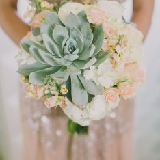 Blush Succulent Wedding Inspiration