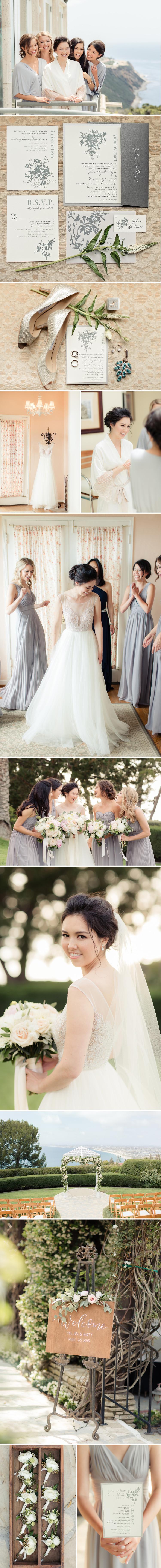 Neutral California Coast Wedding | Beacon Lane Real Wedding