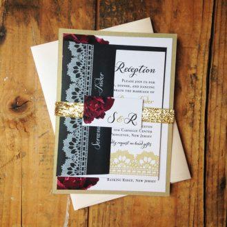 Modern Boho Wedding Invitations By Beacon Lane