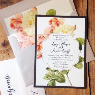Rustic Garden Chic Wedding Invitations by Beacon Lane