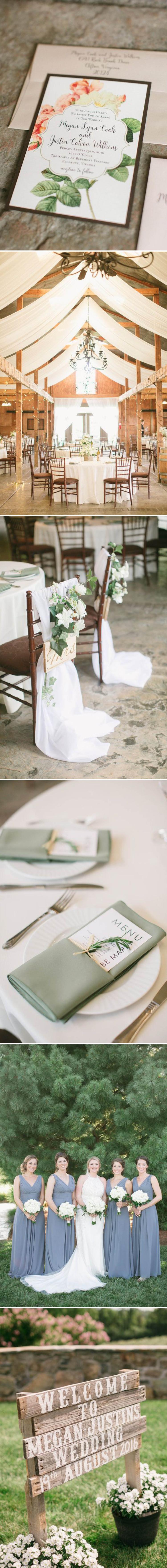 Romantic Vineyard Wedding | Beacon Lane Real Wedding