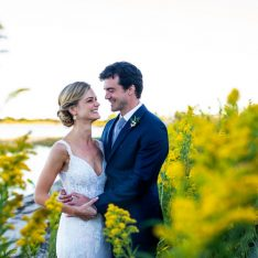 A Classic and Timeless Rhode Island Wedding