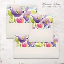 Bright Blooms Envelope Liner