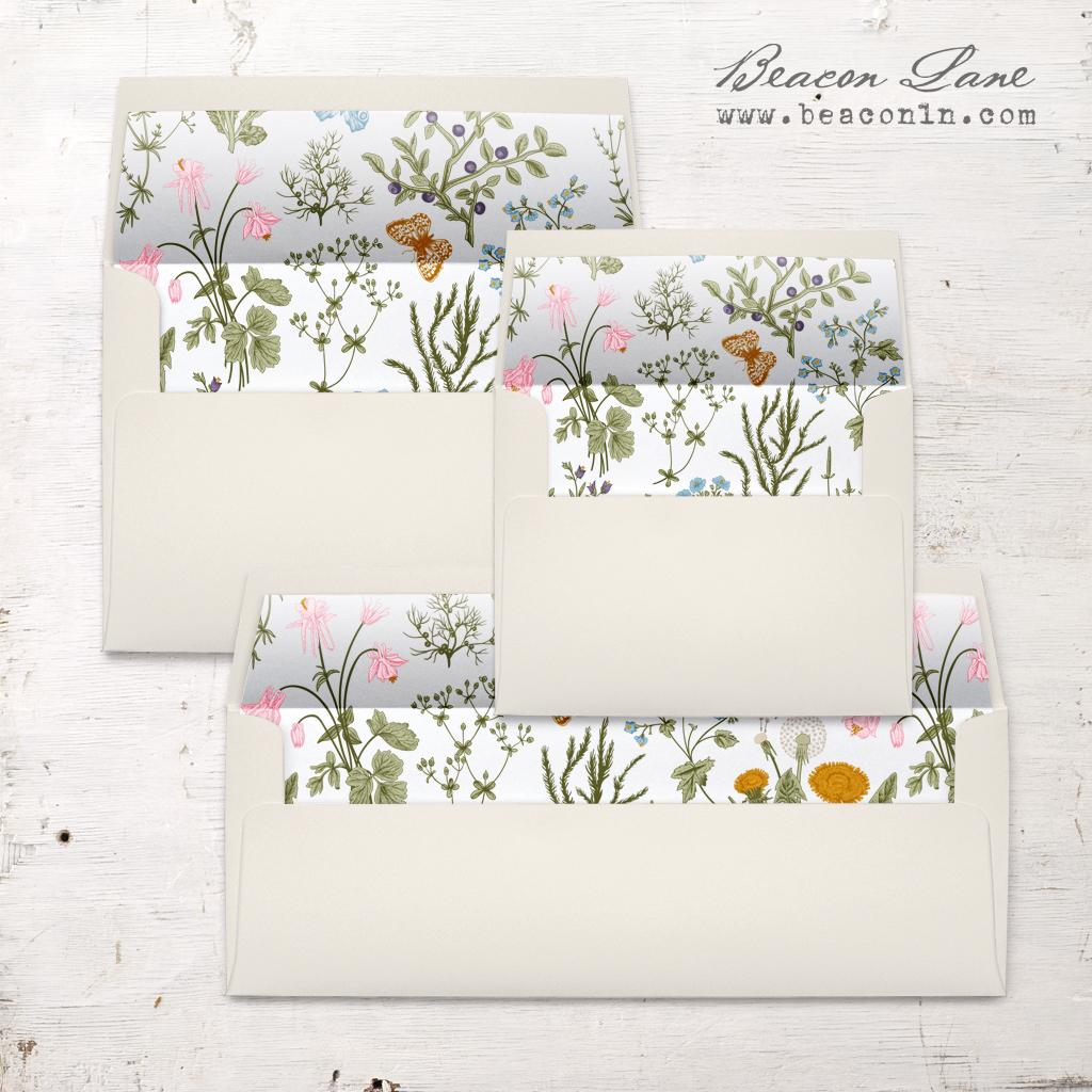 Download Butterfly Garden Envelope Liner | Beacon Lane