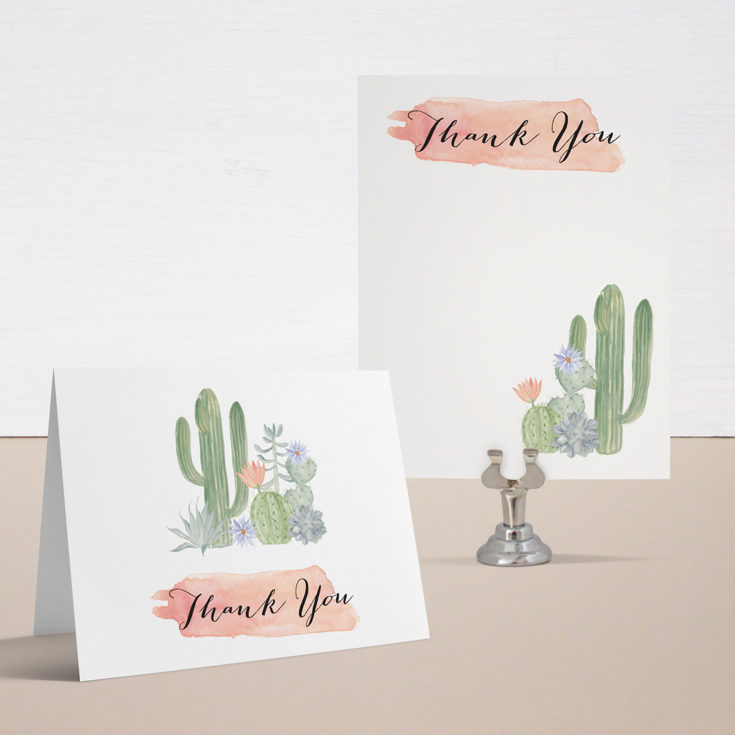 Cactus Blooms Baby Shower Invitations Beacon Lane