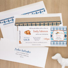 Cowboy Cutie Baby Shower Invite