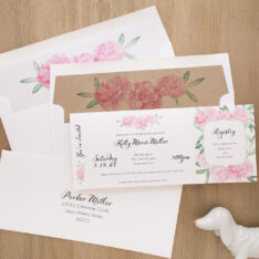 Ruffles & Ribbons Baby Shower Invites
